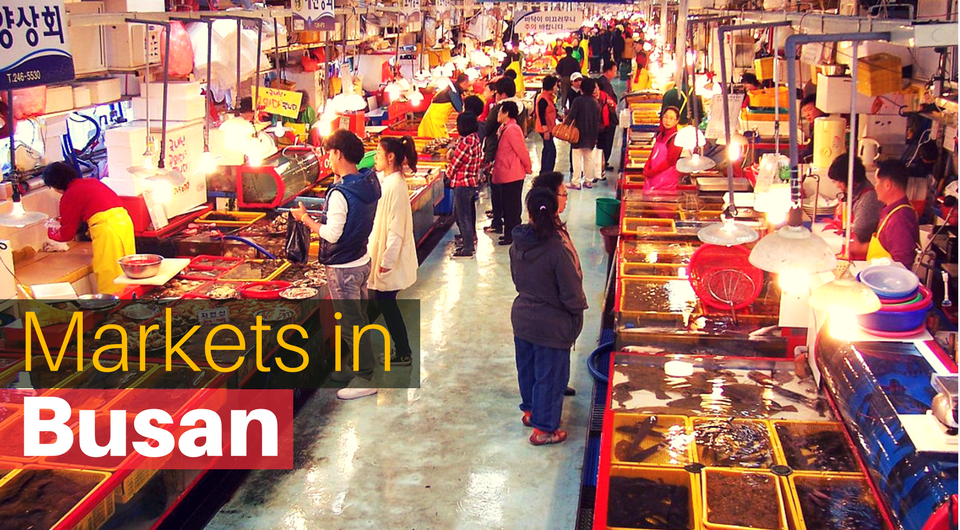 Top 5 Markets in Busan for Muslim Shoppers