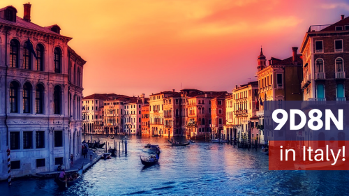Your Muslim-Friendly Holiday Itinerary to Italy for 9D8N