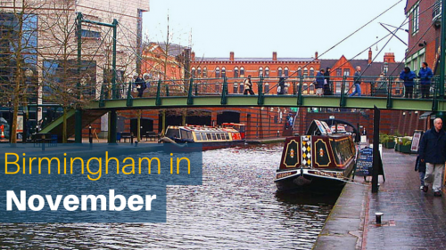 5 Reasons To Visit Birmingham This November