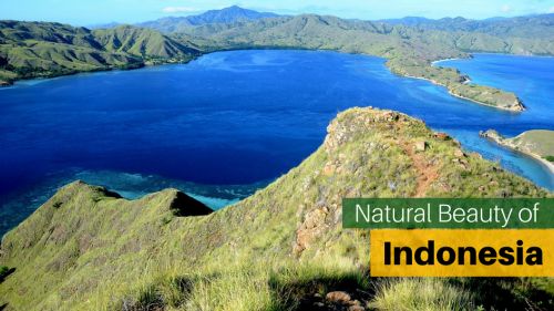 Discover the natural beauty of Indonesia