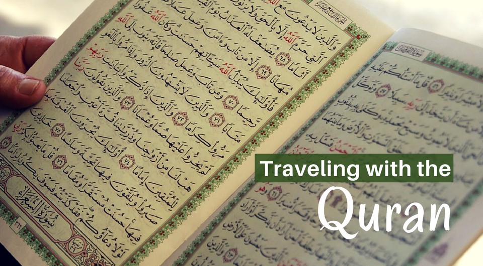 6 Ways of Taking the Quran with you on a Journey
