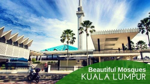 5 Beautiful Mosques To Visit in Kuala Lumpur