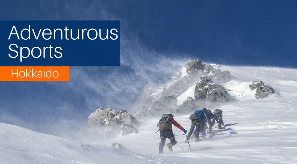 Take on these 5 Adventurous Sports in Hokkaido!