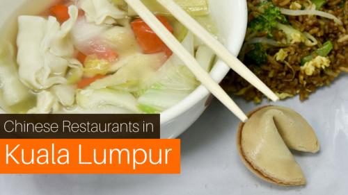 Top 6 Halal Chinese Restaurants in Kuala Lumpur