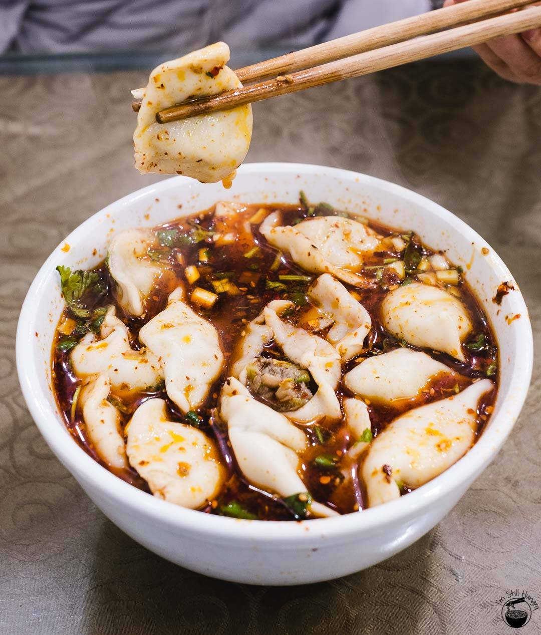 5 halal chinese dishes you must try in xian china find halal 4 hot and sour dumpling soup suantang shuijiao forumfinder Images