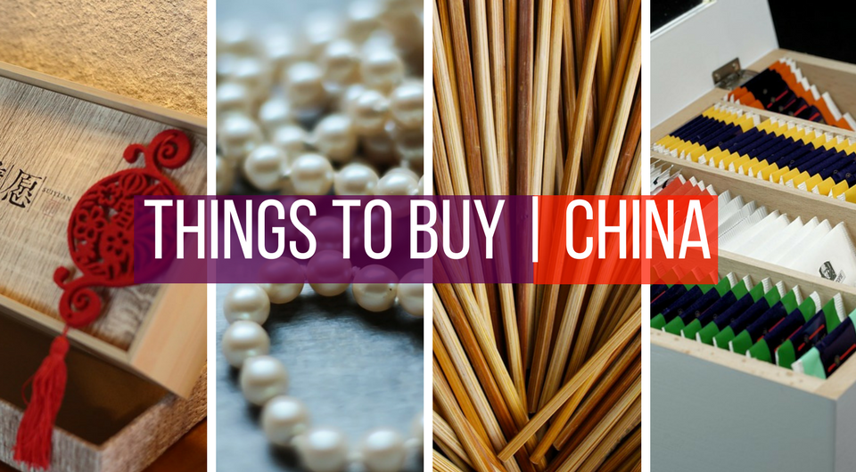 10 Things You Need to Buy in China