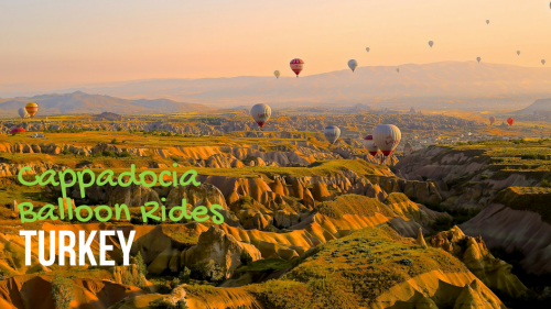 Cappadocia Balloon Rides in Turkey [Travel Destination]