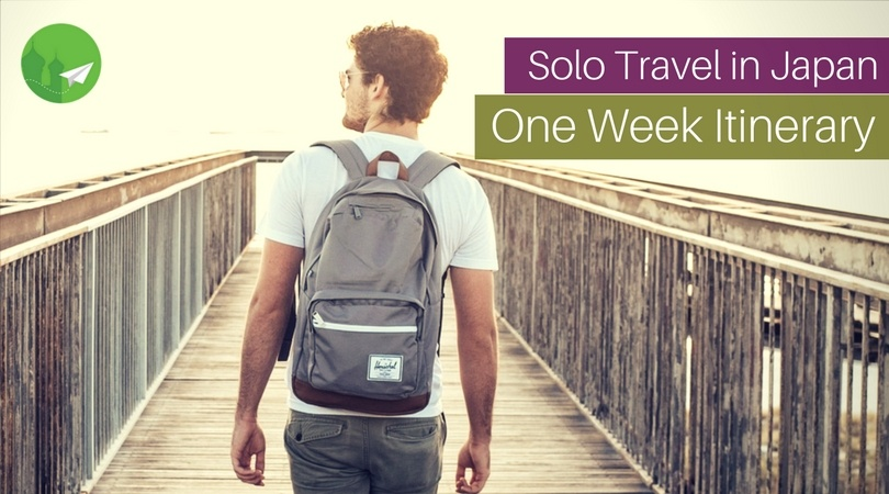 One Week Itinerary for Solo Travel in Japan