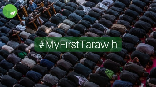 #MyFirstTarawih: Praying in Masjid Al-Haram