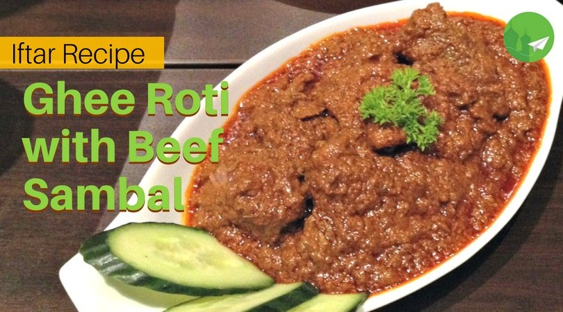 Ghee Roti with Beef Sambal: When You Need Some Comfort Food