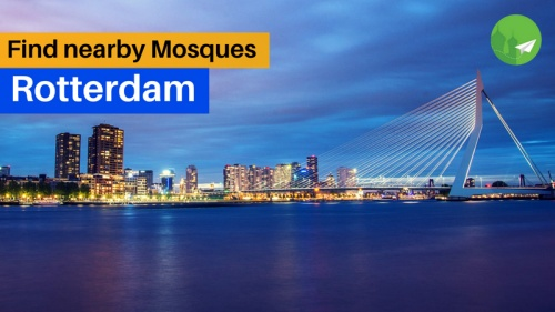 Find Mosques Near you in Rotterdam