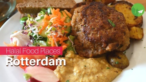 Find Halal Food Places Near you in Rotterdam