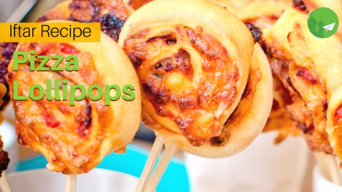 Pizza Lollipops: Something Fun to Spice Up Your Spread