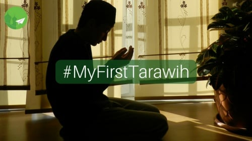 #MyFirstTarawih: The Unaccompanied Man