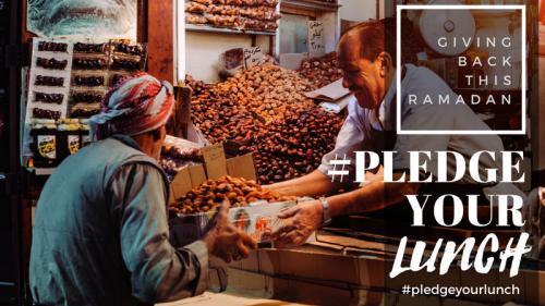 Pledge your Lunch this Ramadan