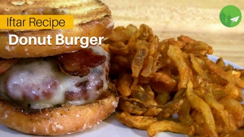 Doughnut Burger: The Best of Both Worlds!