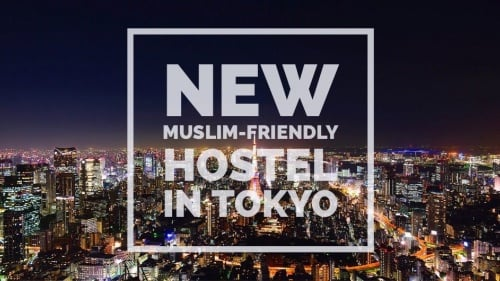 LATEST: Check Out This New Muslim-Friendly Youth Hostel In Tokyo