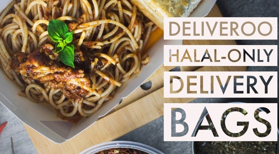 Deliveroo Is The Next Company To Have Halal-Only Delivery Bags In SG