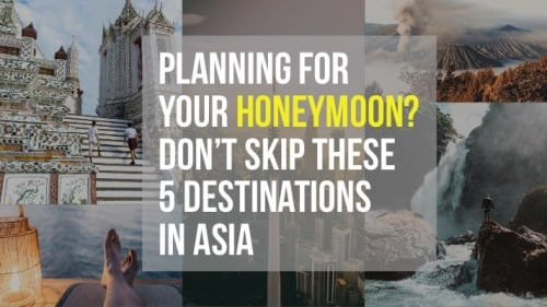 Excited For Your Honeymoon? Don't Skip These Top 5 Destinations When Planning For An Exotic Escape With Your Partner!