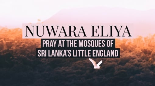 Get To Know The Muslim Community In Sri Lanka's Little England! Check Out Nuwara Eliya's Beautiful Mosques
