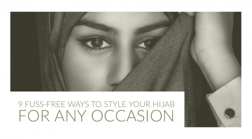 Holiday Or Simply A Quick Run To The Store? Here Are 9 Fuss-Free Ways to Style your Hijab For Any Occasion!