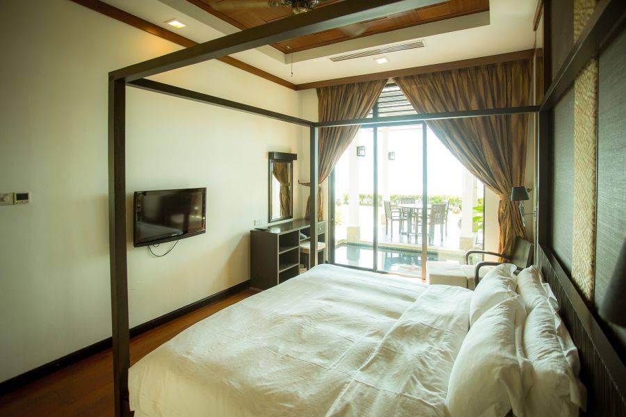 Borneo Beach Villas Kota Kinabalu Sabah Malaysia Honeymoon halal