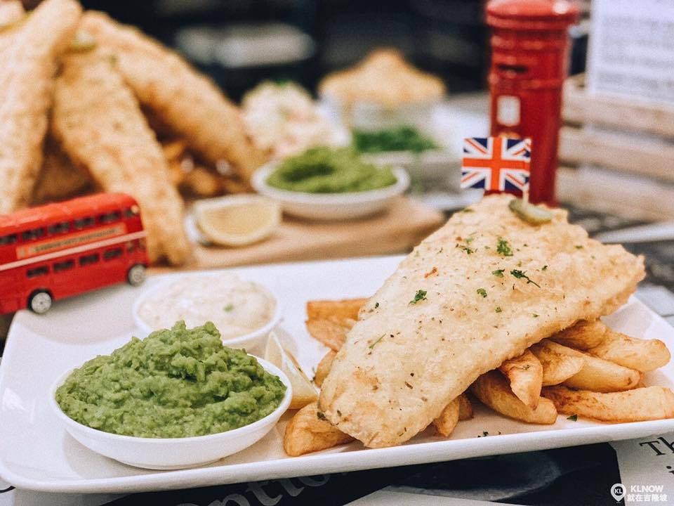 Cor Blimey British Fish and Chips Damansara Uptown Halal food KL Malaysia Kuala Lumpur
