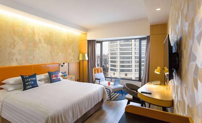 Hotel Jen Penang Malaysia honeymoon halal