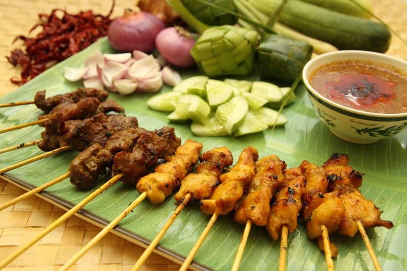 Sate Kajang Haji Samuri Halal food KL Malaysia Kuala Lumpur