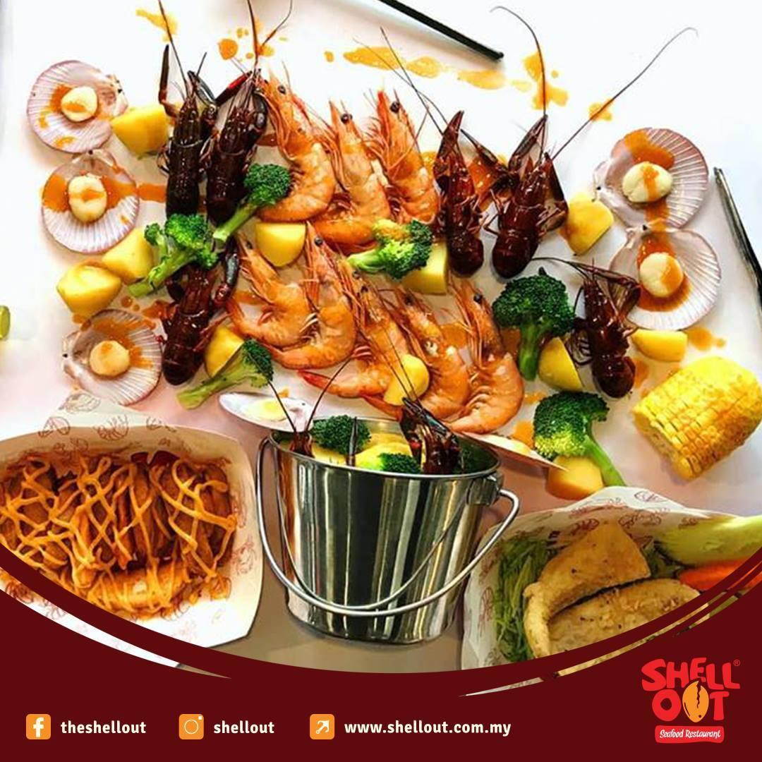 Shell out Publika Halal food KL Malaysia Kuala Lumpur