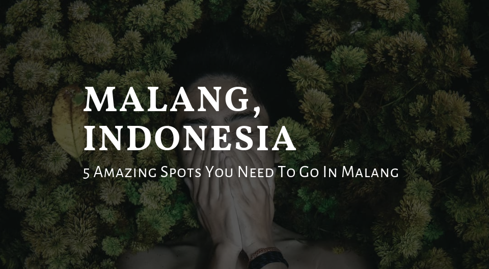 Malang, Indonesia   5 Amazing Spots You Need To Go In Malang