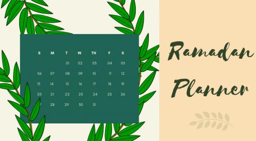 Barakah Lifestyle: 7 Ways to Get Started on Your Ramadan Planner