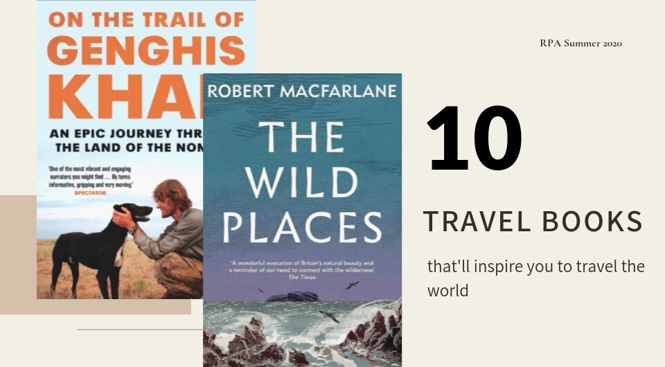 10 Travel Books That'll Inspire You to Travel The World!