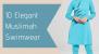 10 Stylish & Elegant Swimwear for Muslimahs