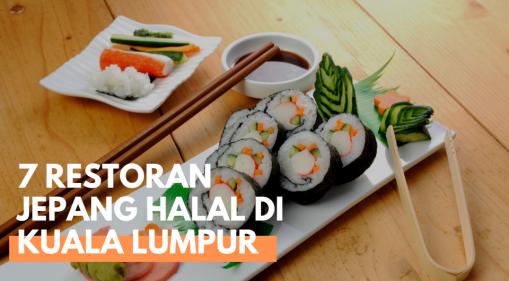 7 Restoran Jepang Halal di Kuala Lumpur