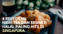 4 Restoran High-Tea dan Brunch Halal Paling Hits di Singapura