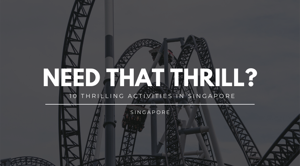 Craving For That Thrill? Here Are 10 Most Thrilling Activities You Can Do In Singapore