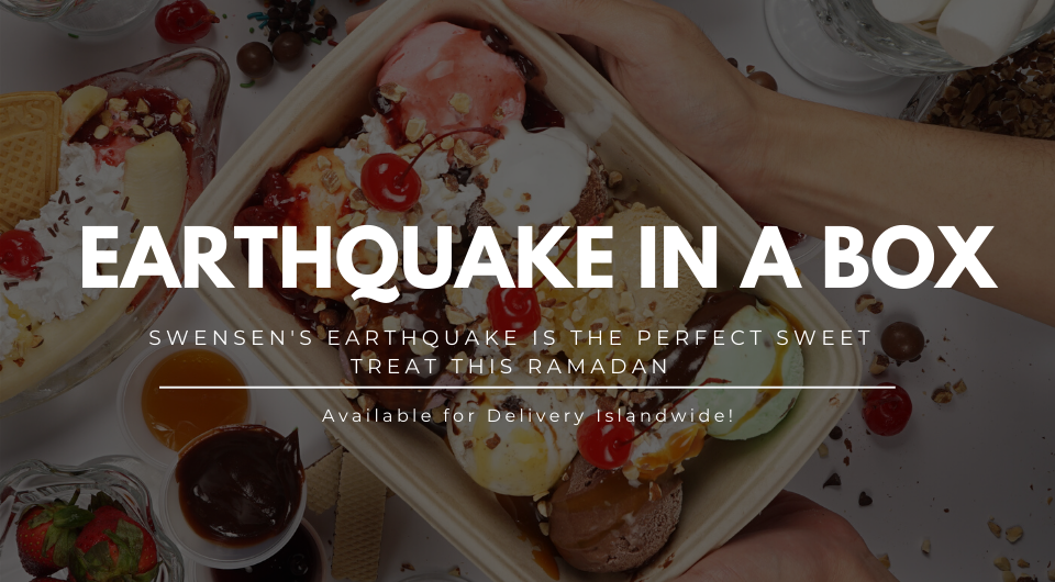 Get Swensen's Earthquake In A Box For A Sweeter Ramadan