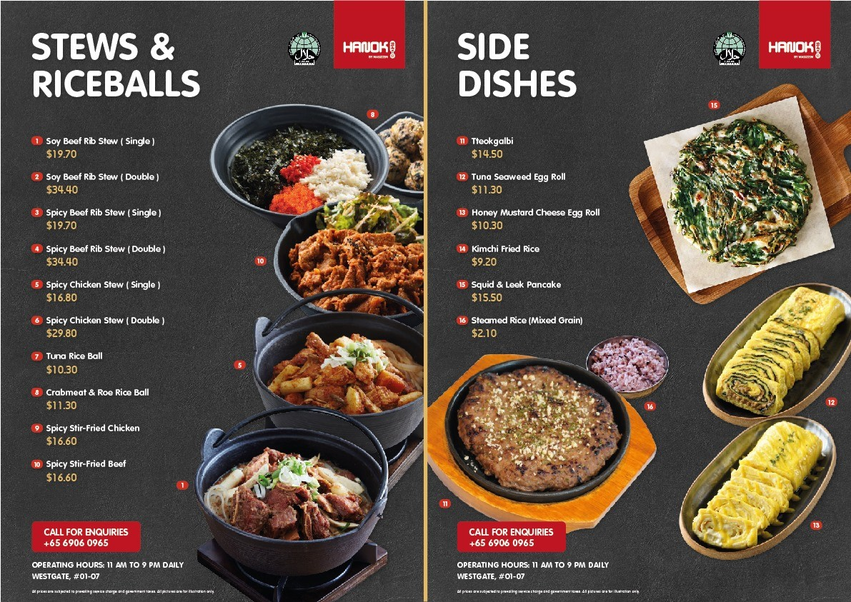 halal korean food Hanok by Masizzim Singapore