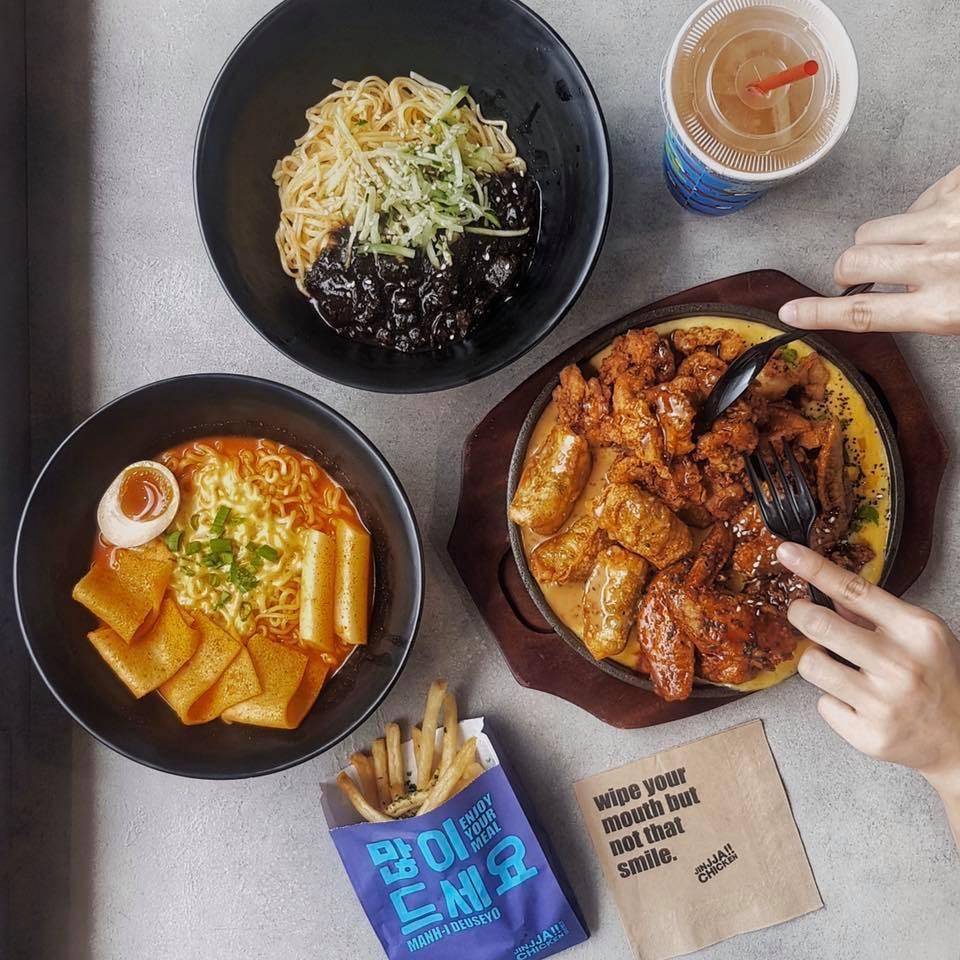 halal korean food jinjja chicken singapore korean food