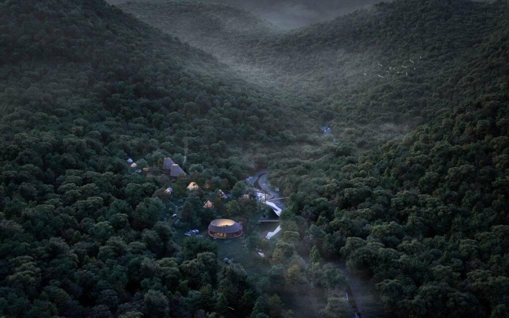 Princess Mononoke Campsite, Hygge Circles Ugakei