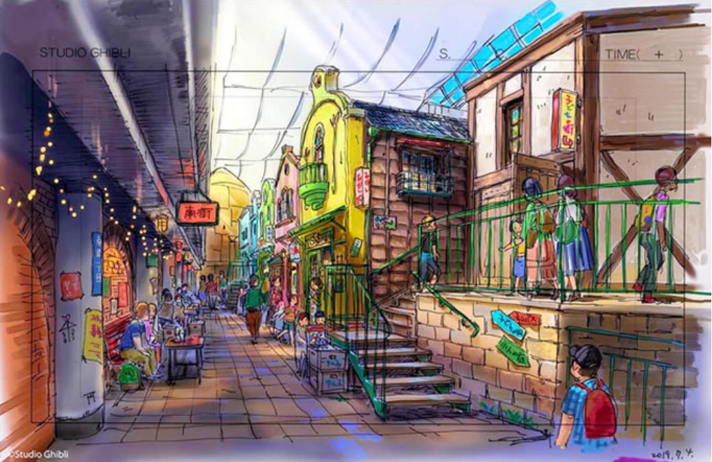 Princess Mononoke Campsite, Studio Ghibli theme park
