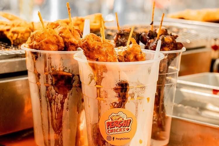 PerghChicks Halal Bazaar food
