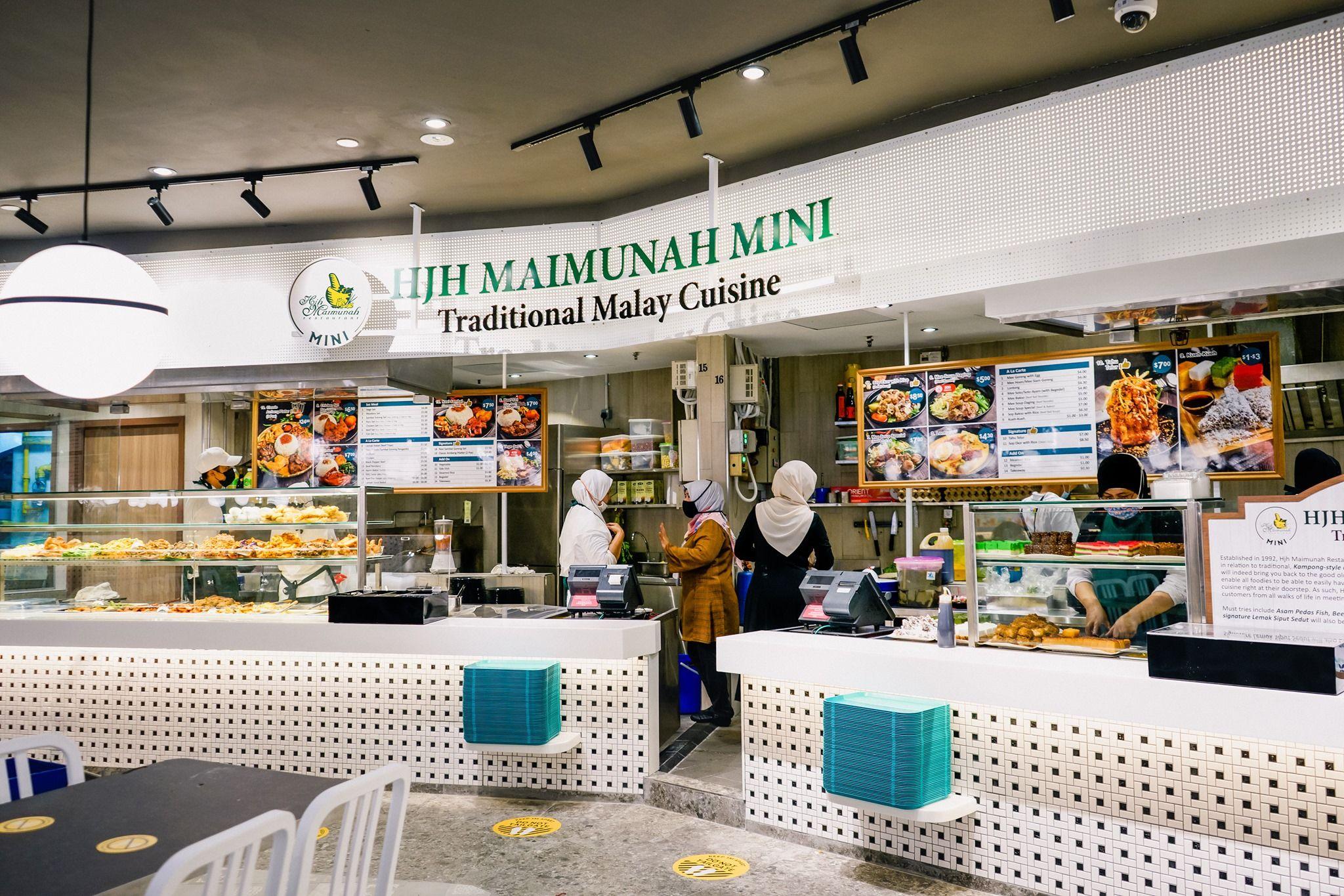 Hajah Maimunah Mini Halal Nasi Tampines hub