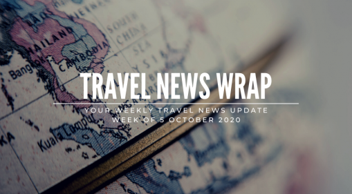Travel News Wrap: 5 October Week