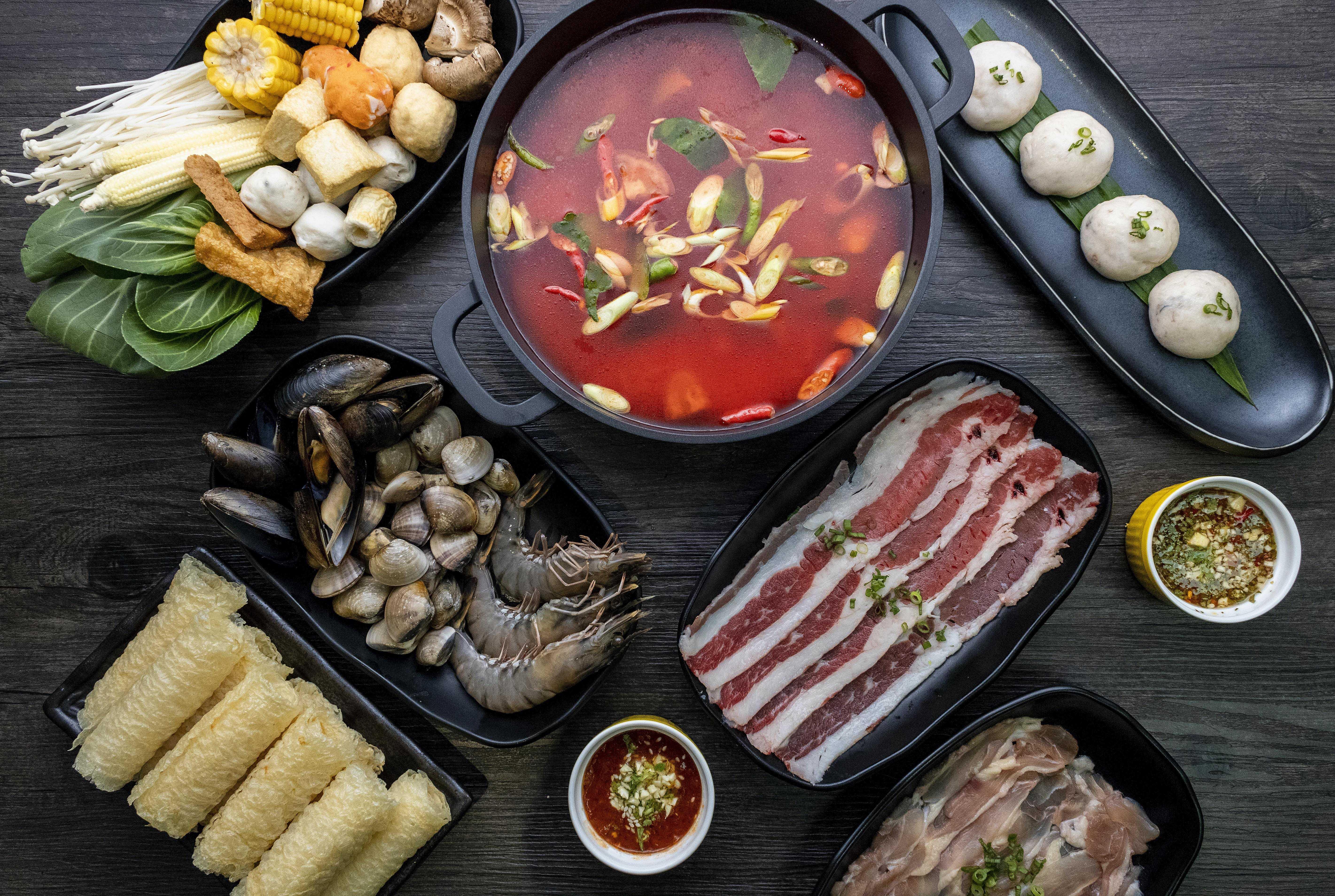Suki-Suki Thai Hot Pot Halal thai