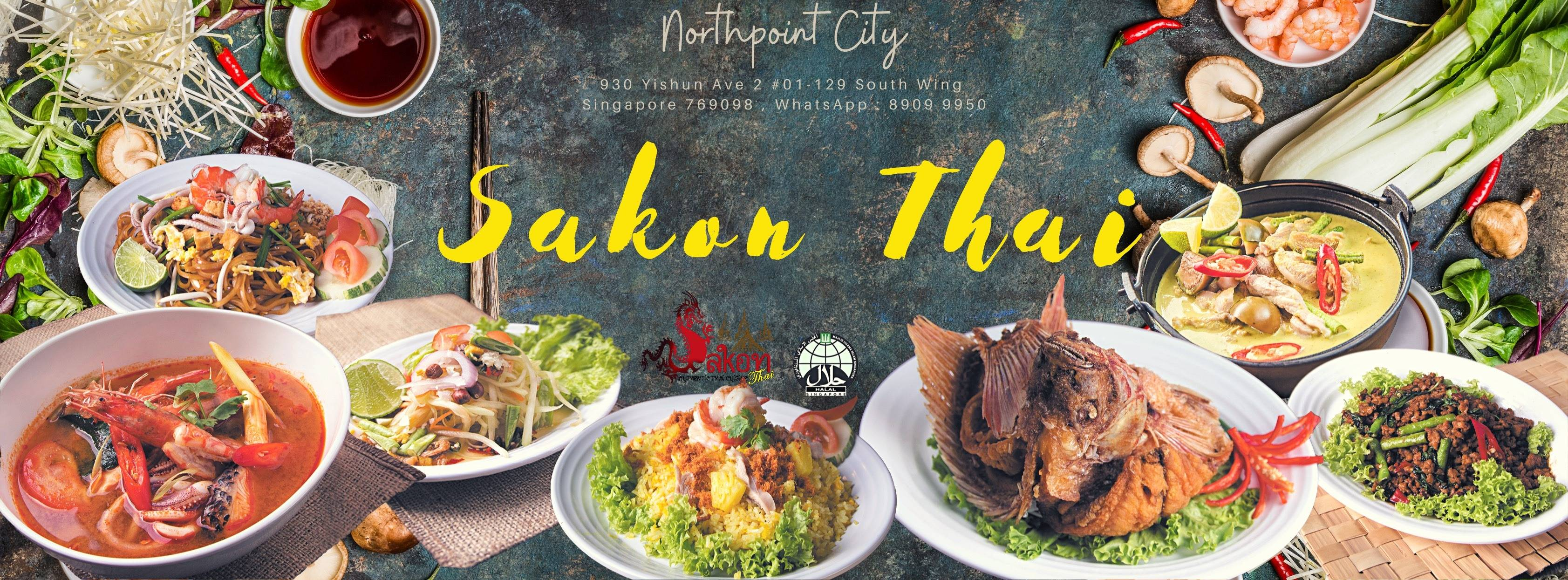 Sakhon Thai Restaurant Halal Singapore