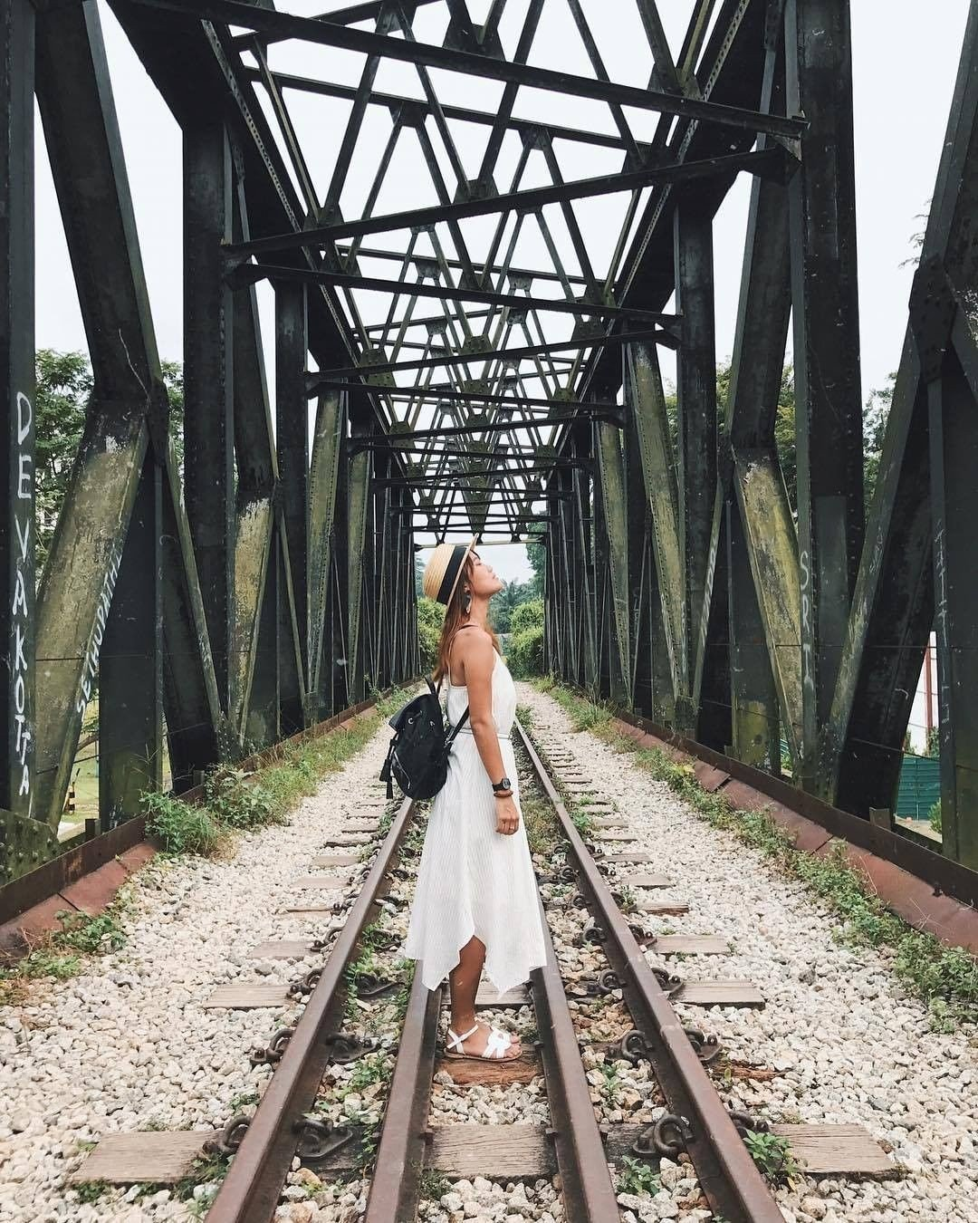 Bukit Timah Railway Station: top instagrammable places in Singapore