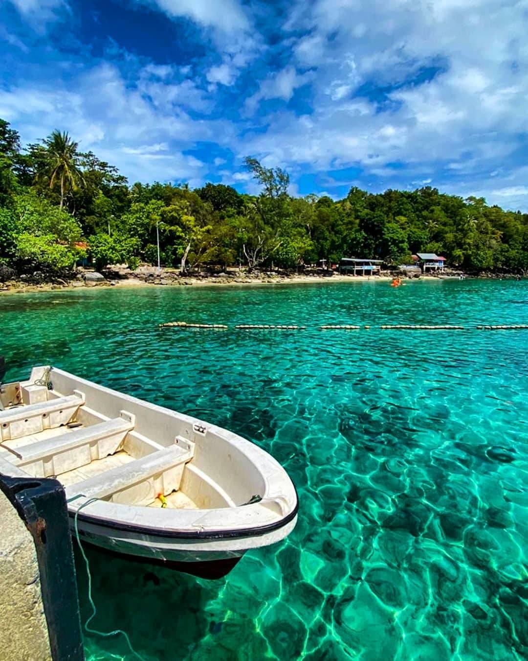 Pulau Weh Sabang Aceh Indonesia Pantai Iboih