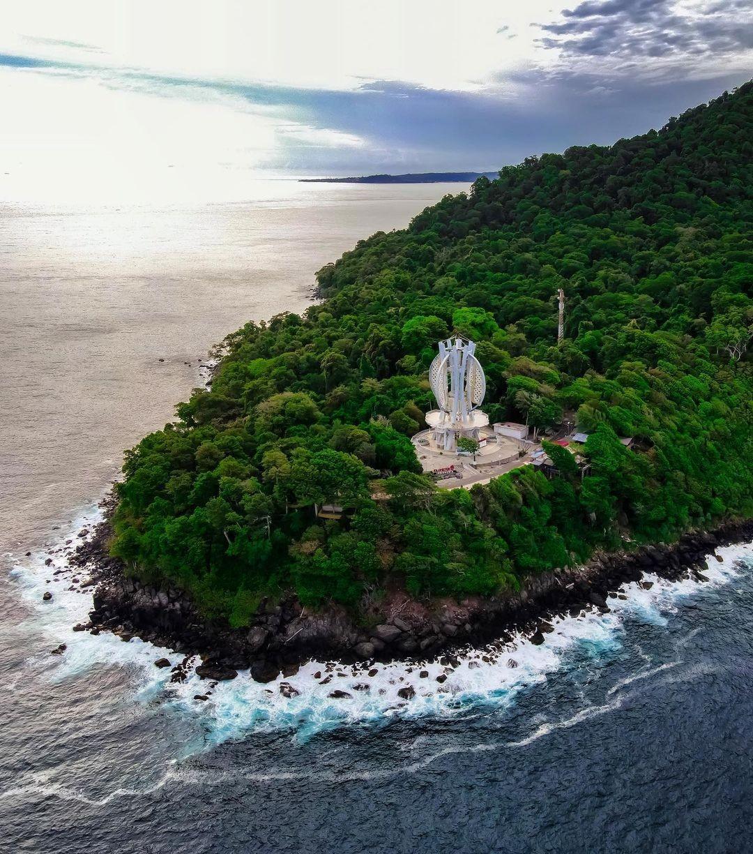 Pulau Weh Sabang Aceh Indonesia Tugu Nol Kilometer